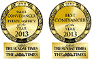 Sunday Times and Times Best Conveyancer 2013